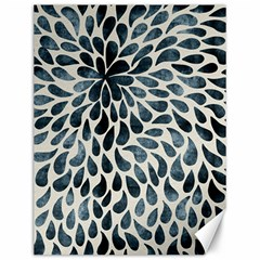 Abstract Flower Petals Floral Canvas 12  X 16