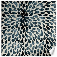 Abstract Flower Petals Floral Canvas 20  x 20