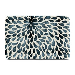 Abstract Flower Petals Floral Plate Mats