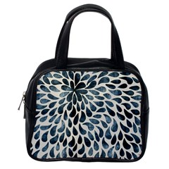 Abstract Flower Petals Floral Classic Handbags (One Side)
