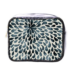 Abstract Flower Petals Floral Mini Toiletries Bags