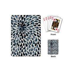 Abstract Flower Petals Floral Playing Cards (Mini)
