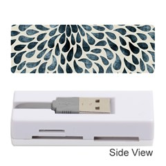 Abstract Flower Petals Floral Memory Card Reader (stick)