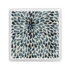 Abstract Flower Petals Floral Memory Card Reader (square)