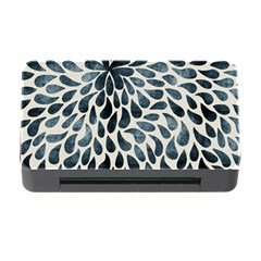 Abstract Flower Petals Floral Memory Card Reader with CF