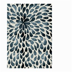 Abstract Flower Petals Floral Small Garden Flag (two Sides)