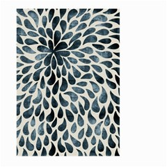 Abstract Flower Petals Floral Large Garden Flag (Two Sides)