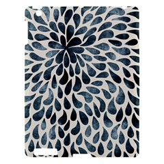 Abstract Flower Petals Floral Apple Ipad 3/4 Hardshell Case