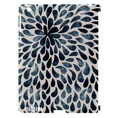 Abstract Flower Petals Floral Apple Ipad 3/4 Hardshell Case (compatible With Smart Cover)