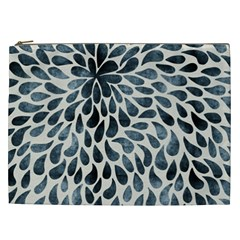 Abstract Flower Petals Floral Cosmetic Bag (XXL)