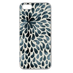 Abstract Flower Petals Floral Apple Seamless iPhone 5 Case (Clear)