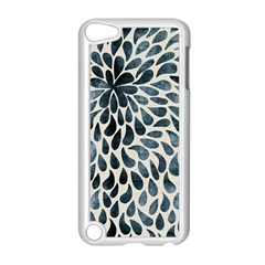 Abstract Flower Petals Floral Apple iPod Touch 5 Case (White)