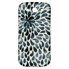Abstract Flower Petals Floral Samsung Galaxy S3 S III Classic Hardshell Back Case
