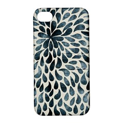 Abstract Flower Petals Floral Apple iPhone 4/4S Hardshell Case with Stand