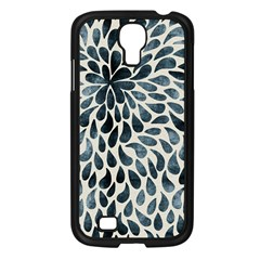 Abstract Flower Petals Floral Samsung Galaxy S4 I9500/ I9505 Case (black)
