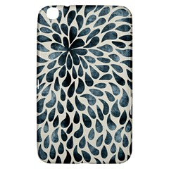 Abstract Flower Petals Floral Samsung Galaxy Tab 3 (8 ) T3100 Hardshell Case