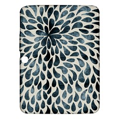 Abstract Flower Petals Floral Samsung Galaxy Tab 3 (10.1 ) P5200 Hardshell Case
