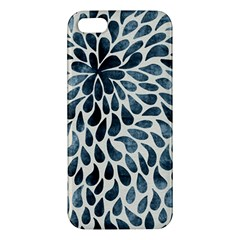 Abstract Flower Petals Floral iPhone 5S/ SE Premium Hardshell Case