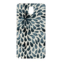 Abstract Flower Petals Floral Samsung Galaxy Note 3 N9005 Hardshell Back Case