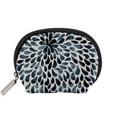 Abstract Flower Petals Floral Accessory Pouches (small)