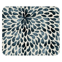 Abstract Flower Petals Floral Double Sided Flano Blanket (Small)