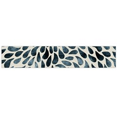 Abstract Flower Petals Floral Flano Scarf (large)
