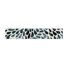 Abstract Flower Petals Floral Flano Scarf (Mini)