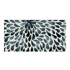 Abstract Flower Petals Floral Satin Wrap