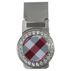 Textile Geometric Retro Pattern Money Clips (CZ)