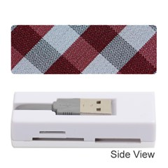 Textile Geometric Retro Pattern Memory Card Reader (stick)