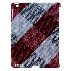Textile Geometric Retro Pattern Apple iPad 3/4 Hardshell Case (Compatible with Smart Cover)