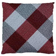 Textile Geometric Retro Pattern Large Cushion Case (Two Sides)