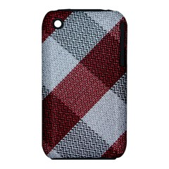 Textile Geometric Retro Pattern iPhone 3S/3GS
