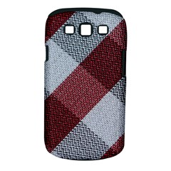 Textile Geometric Retro Pattern Samsung Galaxy S III Classic Hardshell Case (PC+Silicone)