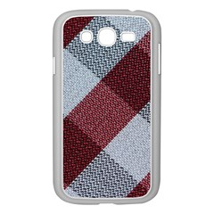 Textile Geometric Retro Pattern Samsung Galaxy Grand DUOS I9082 Case (White)