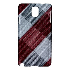 Textile Geometric Retro Pattern Samsung Galaxy Note 3 N9005 Hardshell Case