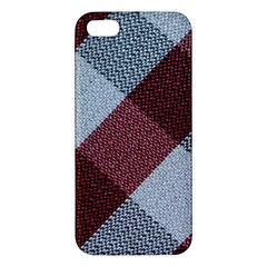 Textile Geometric Retro Pattern iPhone 5S/ SE Premium Hardshell Case