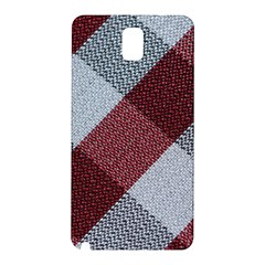 Textile Geometric Retro Pattern Samsung Galaxy Note 3 N9005 Hardshell Back Case