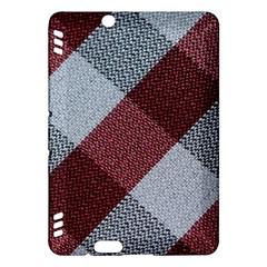 Textile Geometric Retro Pattern Kindle Fire HDX Hardshell Case