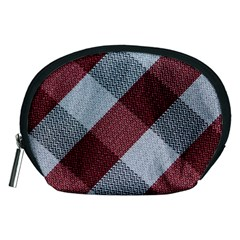 Textile Geometric Retro Pattern Accessory Pouches (Medium)