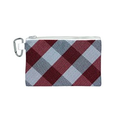 Textile Geometric Retro Pattern Canvas Cosmetic Bag (S)