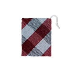 Textile Geometric Retro Pattern Drawstring Pouches (XS)