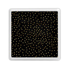 Grunge Retro Pattern Black Triangles Memory Card Reader (square)