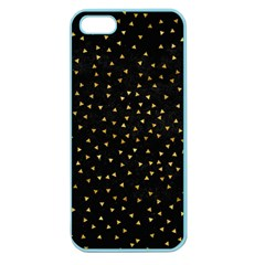Grunge Retro Pattern Black Triangles Apple Seamless iPhone 5 Case (Color)