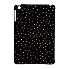 Grunge Retro Pattern Black Triangles Apple Ipad Mini Hardshell Case (compatible With Smart Cover)