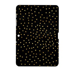 Grunge Retro Pattern Black Triangles Samsung Galaxy Tab 2 (10 1 ) P5100 Hardshell Case