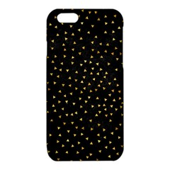 Grunge Retro Pattern Black Triangles iPhone 6/6S TPU Case