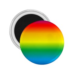 Rainbow Background Colourful 2.25  Magnets