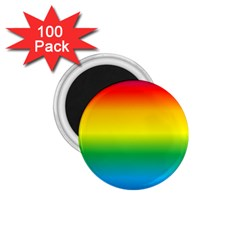 Rainbow Background Colourful 1.75  Magnets (100 pack)