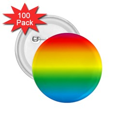 Rainbow Background Colourful 2.25  Buttons (100 pack)